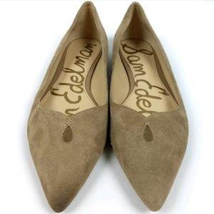 0c9422466dca Sam Edelman Shoes - Sam Edelman Ruby Pointed Toe Suede Flats
